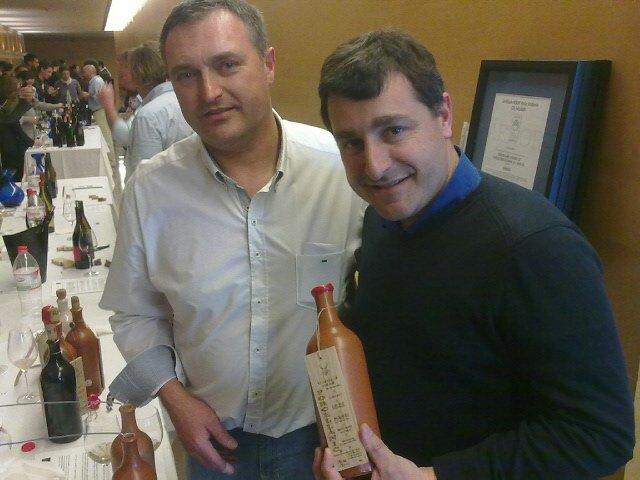 TON RIMBAU amb JOSEP ROCA sommellier del restaurant CELLER CAN ROCA (considerat el millor restaurant del mon 2013).